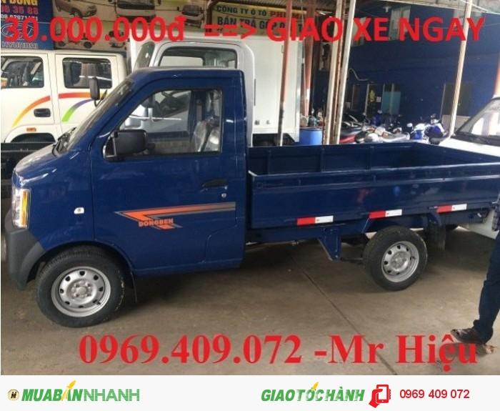 Bán xe dongben 870kg giá rẻ  / Mua xe Dongben 870kg trả góp/ đại lý xe dongben miền nam