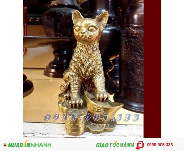 Tượng mèo 12 con giáp - Người tuổi Mão Mùi, Hợi xem ngay để có tiền tài, sức khỏe1