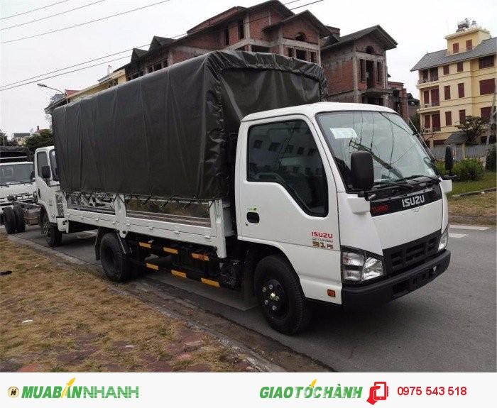 Đại lý bán Xe tải Isuzu 1.9 tấn QKR55H 2016 bán trả góp, lãi suất thấp