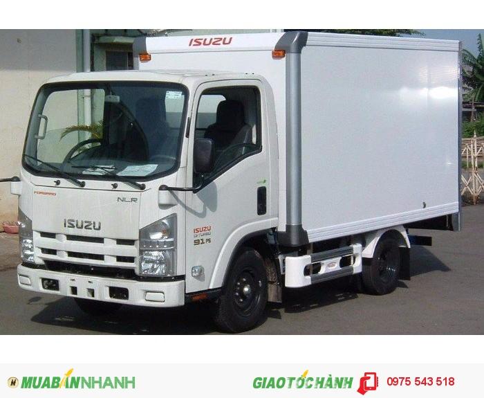 Bán Xe tải isuzu 1.4 tấn NLR55E có hỗ trợ vay đến 80%, giá 470 triệu