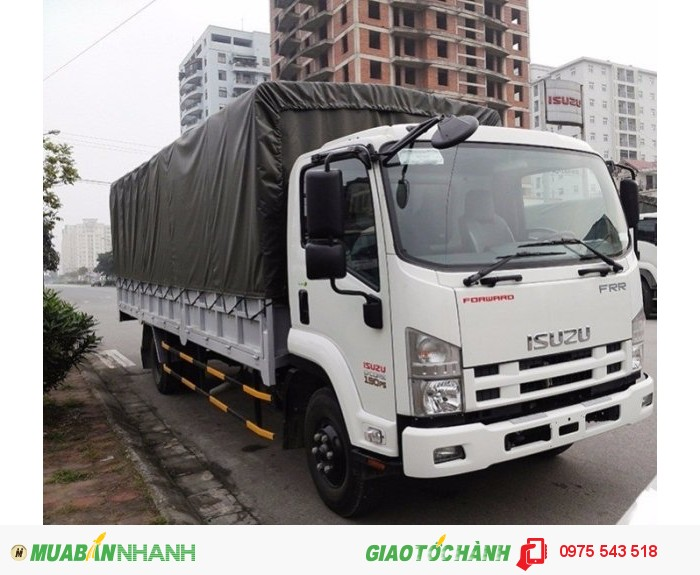 Bán Xe tải Isuzu 6,2 tấn ( 6t2 ) FRR90N giá cực rẻ, giao xe ngay 2016
