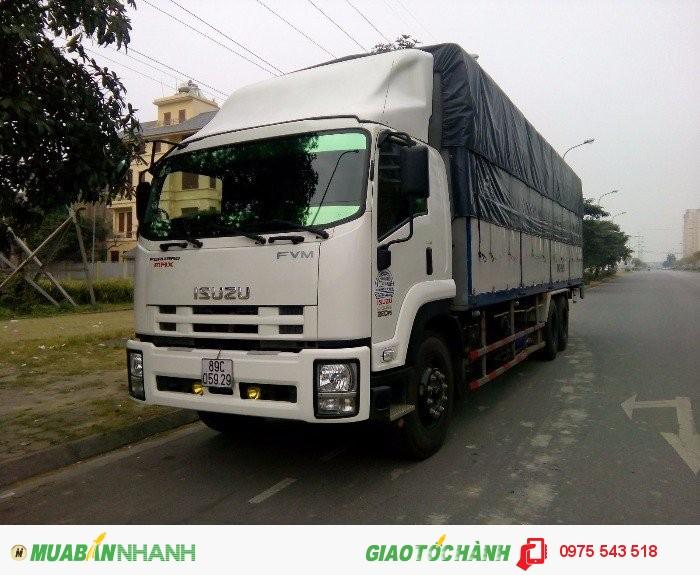Bán xe tải Isuzu 15T4, 15.4 tấn,Isuzu FVM34T đời mới 2016.giá rẻ
