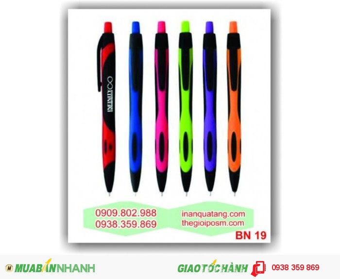 bút baner, bút bi khuyến mãi, bút quảng cáo, in bút, 3