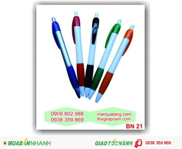 bút baner, bút bi khuyến mãi, bút quảng cáo, in bút, 5