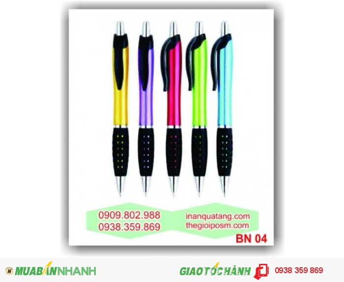 In logo lên bút bi, cung cấp bút bi quảng cáo