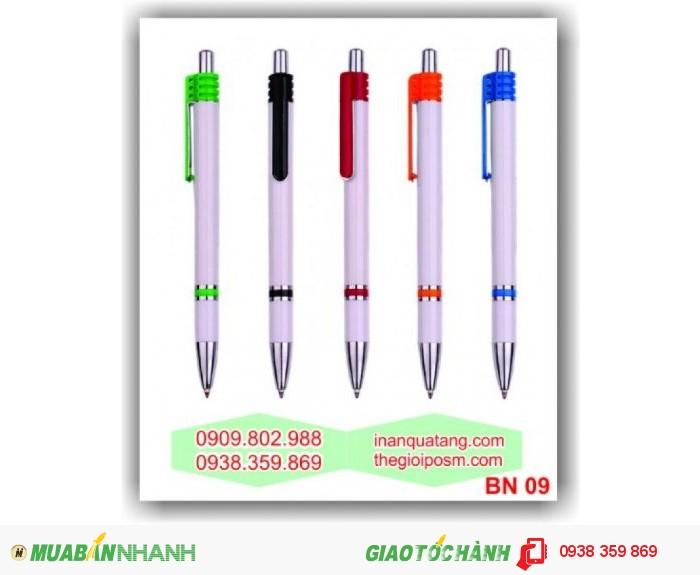 In logo lên bút bi, cung cấp bút bi quảng cáo, 2
