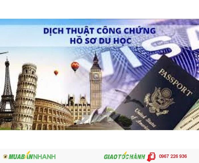 Tư vấn miễn phí và nhận Dịch Hồ sơ Du học Chuyên nghiệp tại Hồng Linh