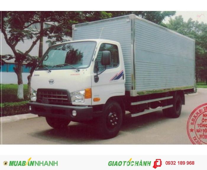 Bán Xe Tải Veam Hyundai Hd800 8t Thùng Mui Kín