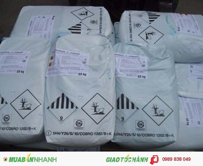 Bán Nickel Sulfate - Niken sunphat - NiSO4 giá tốt0