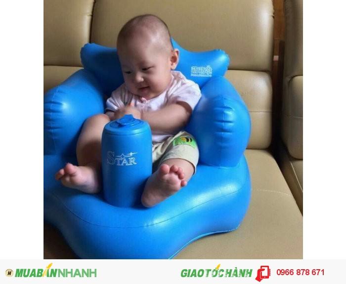 Phao ghế tập ngồi cho bé !! Giúp bé nhanh biết ngồi, chất phao mềm mại ko tạo cảm giác sợ