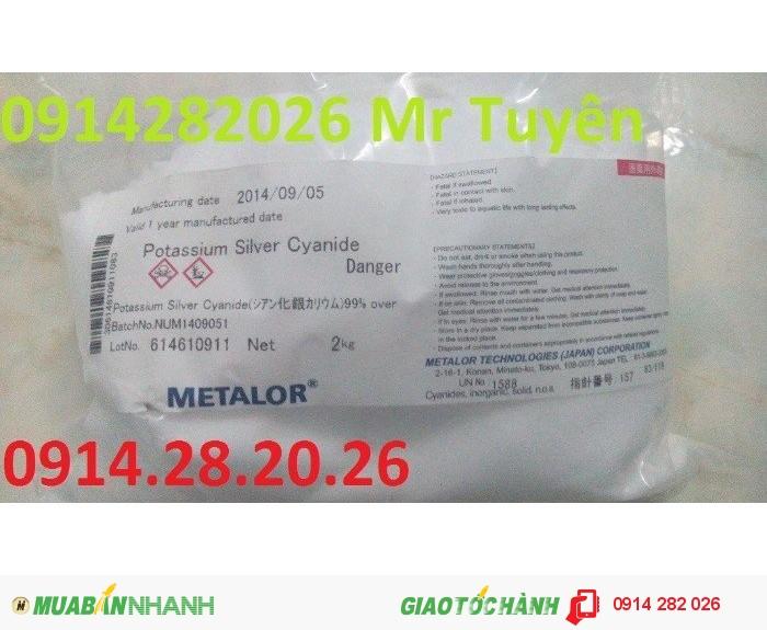 Bán Potassium-Silver-Cyanide-KAg(CN)21