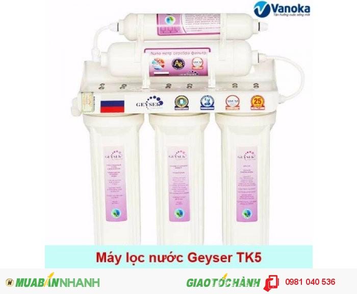 Thanh lý máy lọc nước Nano Geyser nhập khẩu LB Nga