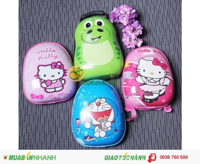 Ba Lô Hình Trứng 3D Cao Cấp Cho Bé NX20163