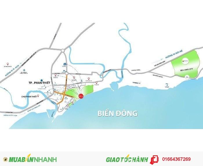 Bán đất nền dự án nghỉ đưỡng biển tại trung tâm Phan Thiết: