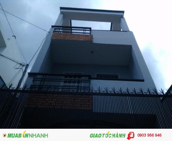 Nhà 205/41 Phạm Văn Chiêu, phường 9, Gò Vấp, HXH 6m, 4x15m, 1 Trệt+ 2 lầu, 4PN, Tây Bắc