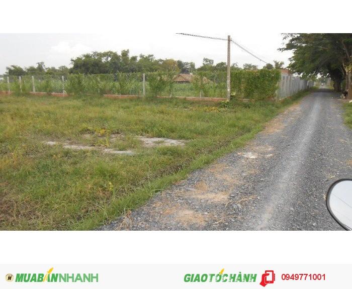 Bán đất thổ cư xã Mỹ Hạnh Nam Huyện Đức hòa 5x24 =104 m2.