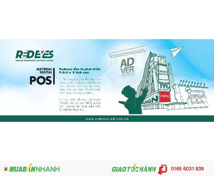 Thiết kế ý tưởng quảng cáo nội thất showroom, in ấn