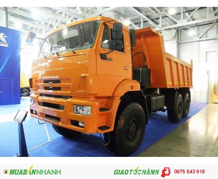 Bán Xe Kamaz 65115 6x4 3 chân 15 tấn, Xuất xứ Nga (nhập khẩu),giao ngay 1