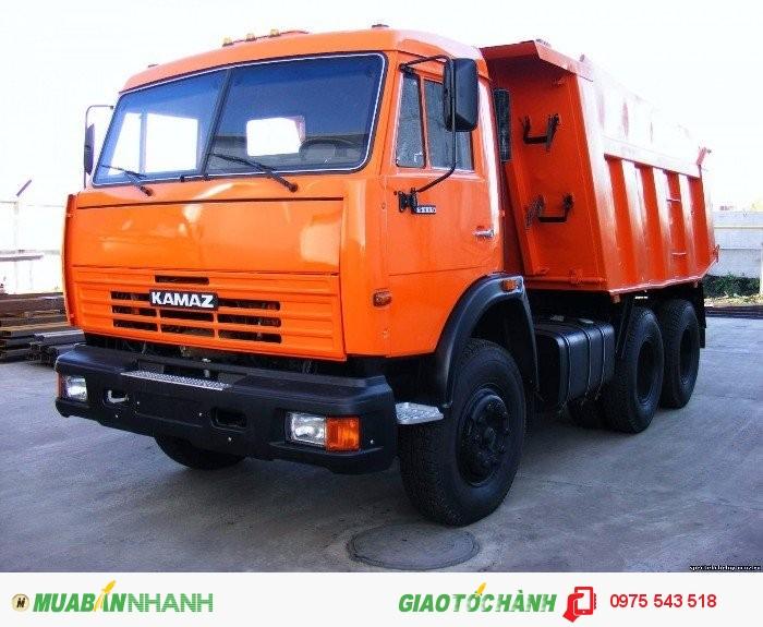 Bán Xe Kamaz 65115 6x4 3 chân 15 tấn, Xuất xứ Nga (nhập khẩu),giao ngay 2