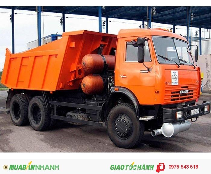 Bán Xe Kamaz 65115 6x4 3 chân 15 tấn, Xuất xứ Nga (nhập khẩu),giao ngay 3