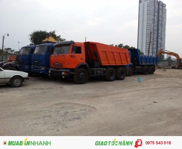 Bán Xe Kamaz 65115 6x4 3 chân 15 tấn, Xuất xứ Nga (nhập khẩu),giao ngay 4
