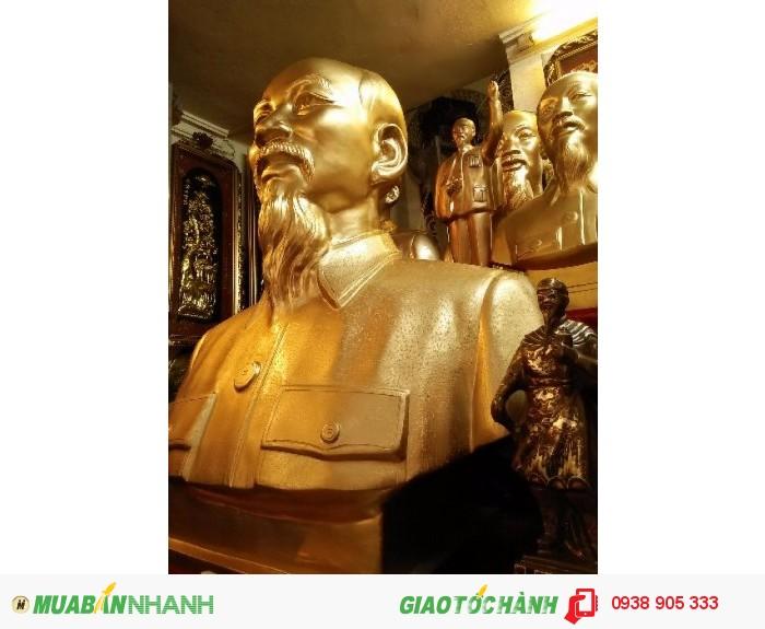 Tượng bác Hồ bán thân cao 70cm.hàng có sẵn bán với giá rẻ nhất Sài Gòn0