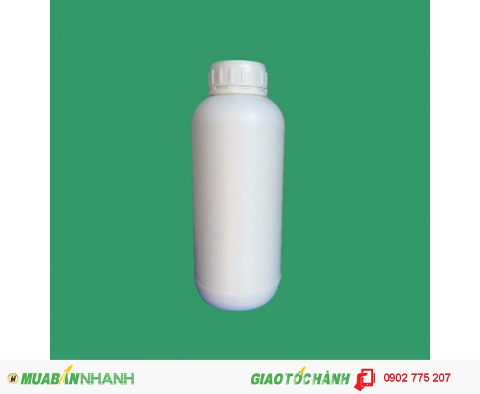 Chai nhựa 1 lít, hdpe phân bón0