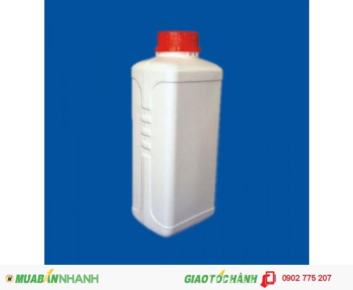 Chai nhựa 1 lít tròn, chai nhựa 1 lít vuông, hình chữ nhật0