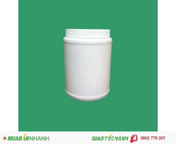 Chai nhựa 1 lít tròn, chai nhựa 1 lít vuông, hình chữ nhật4