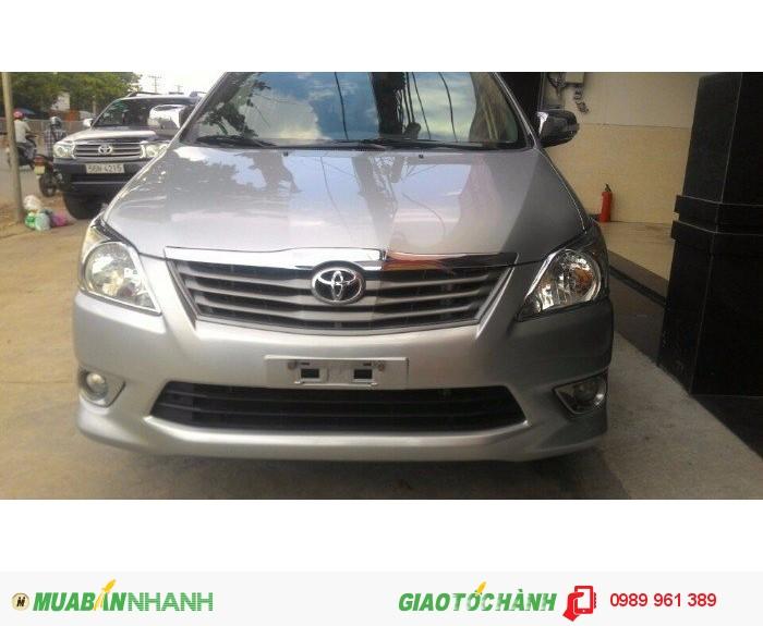 Xe Toyota Innova 2.0 AT 2012, 669 triệu