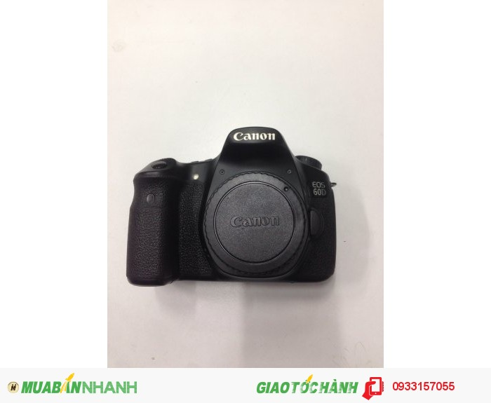 Canon 60d body 90%0