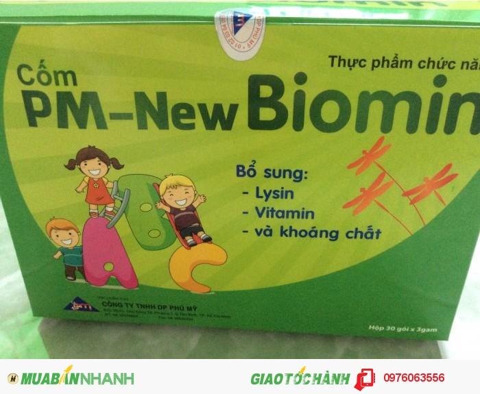 Biomin giúp bổ sung Lýin, Vitamin và khoáng chất