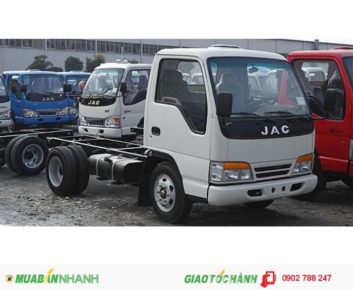 Bán xe tải JAC LOẠI 2 chân 2.4 tấn /2.45 tấn/2.49 tấn giá rẻ nhất.