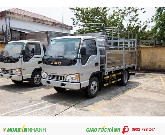 Mua bán xe tải jac 2 chân 2.4 tấn , 2.45 tấn , 2.49 tấn  trả góp.