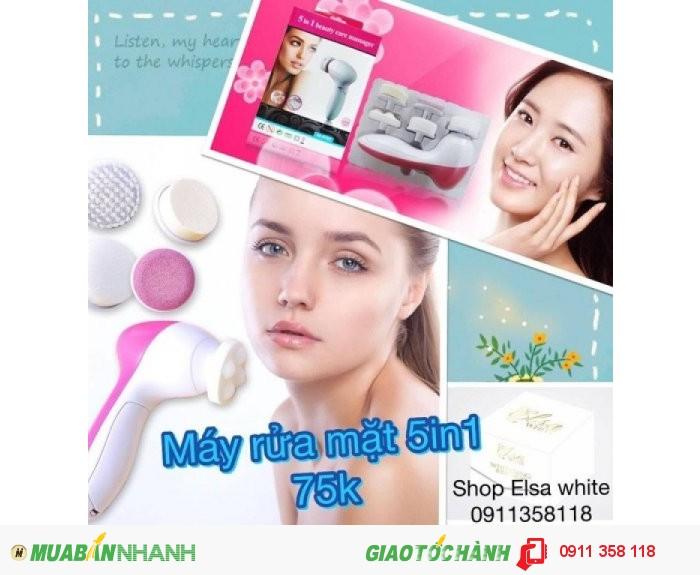 Công dụng về máy rửa mặt mắt xa