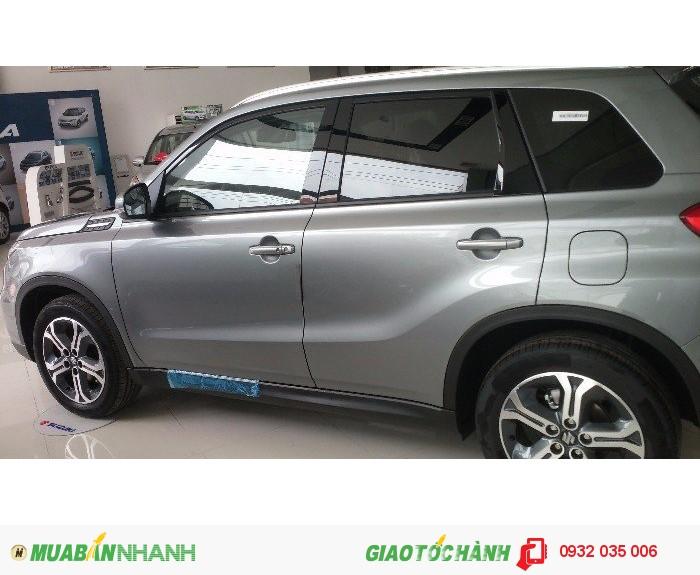 Bán xe Suzuki Vitara 2016, màu xám bạc giá tốt