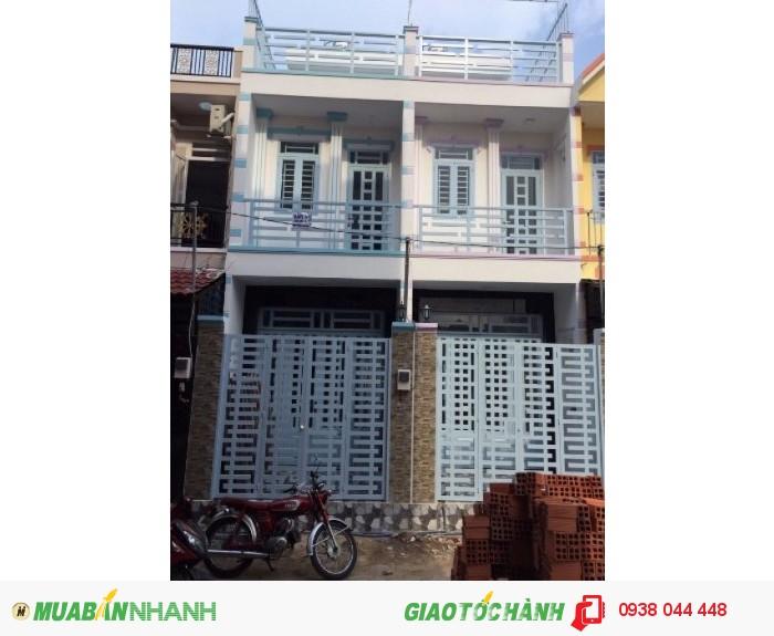 Nhà 3 tầng, 4pn, SHR, Lê Văn Lương gần cầu Ông Bốn, Nhà Bè