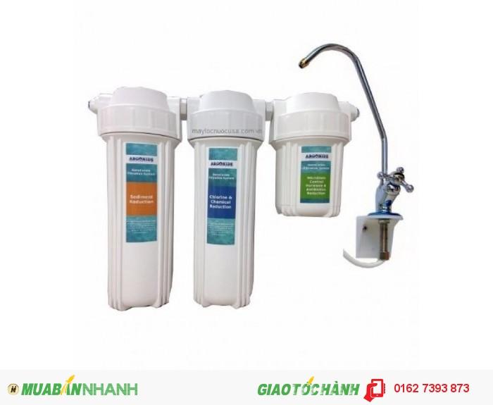 Máy lọc nước chất lượng, không điện, không chất thải.