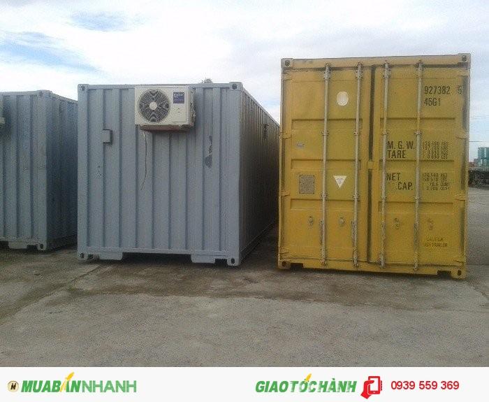 Container Cần Thơ từ 10', 20', 40' văn phòng