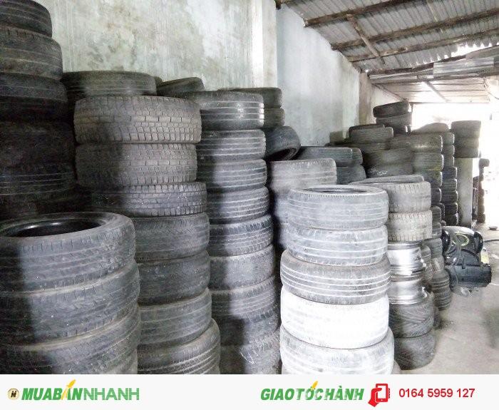 Chuyên mua bán cung cấp mâm lốp xe ô tô cũ các loại