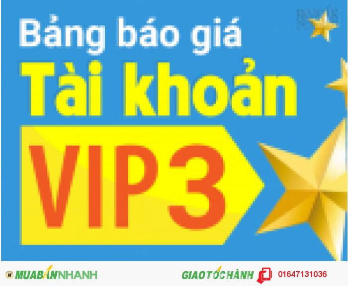 Lý do bạn nên chọn tài khoản VIP 3