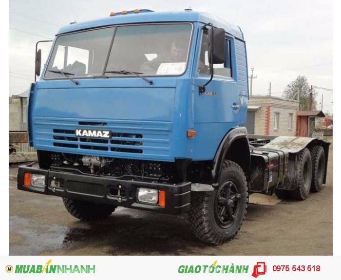 Đại lý bán xe đầu kéo Kamaz 54115, 2 cầu, 27 tấn, giá rẻ,giao ngay 3