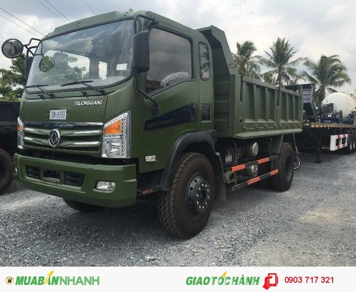 Bán xe ben DongFeng 9T2 thùng 8 khối mới 2016/ Giá bán xe ben DongFeng 9T2/ 9200Kg / 9.2 Tấn