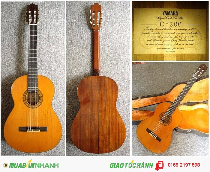 Đàn Guitar Classic YAMAHA C-200
