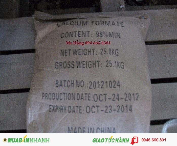 Calcium Formate, Ca(HCO2)2, thức ăn chăn nuôi, thuốc thủy sản, Calcium Diformate, thCalcium Formate1