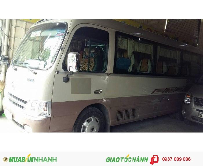Xe khách 29 ghế thân dài thân ngắn hyundai đã qua sử dụng