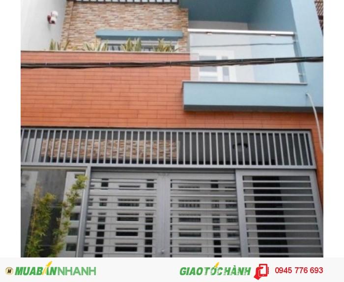 Bán nhà hẻm rộng đường Nguyễn Đình Chiểu P4Q3, 1 trệt 3 lầu, giá 4.5 tỷ (TL)