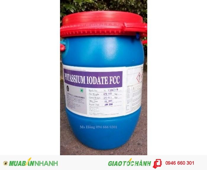 Potassium Iodate, KIO3, phụ gia thức ăn chăn nuôi, thuốc thủy sản, Iodic Acid1