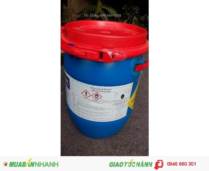 Potassium Iodate, KIO3, phụ gia thức ăn chăn nuôi, thuốc thủy sản, Iodic Acid2