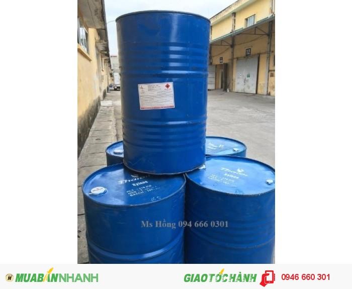 Xylene, dung môi sơn, sản xuất thuốc trừ sâu, keo dán cao su, Xylol3